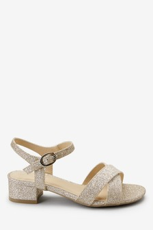 Gold Sandals from the Next UK online shop
