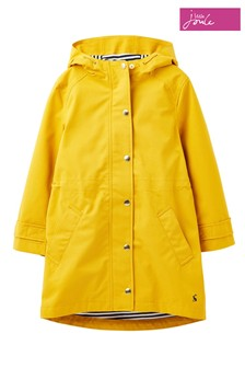 Joules Yellow Shoreside Waterproof Coastal Coat