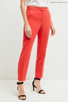 French Connection Red Whisper Ruth Tailored Trouser