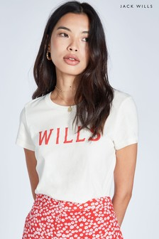 Jack Wills Vintage White Eccleston Classic T-Shirt