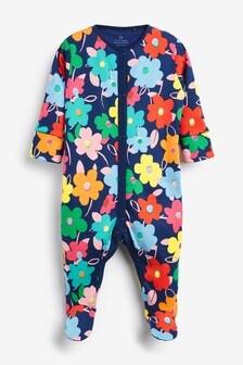 Large Floral Sleepsuit (0mths-2yrs)