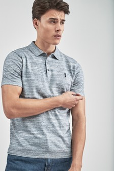 Yarn Interest Knitted Polo