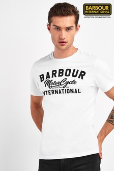 Barbour® International White Fuse T-Shirt