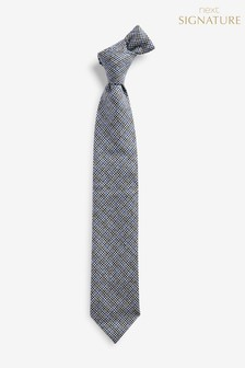 Puppytooth 'Made In Italy' Signature Tie
