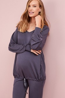 Maternity Modal Bubble Hem Tunic