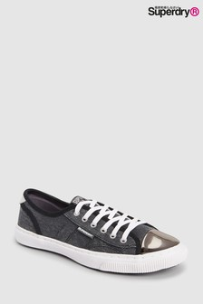 Superdry Black Lux Low Pro Sneaker