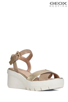 Geox Gold D Torrence Sandal