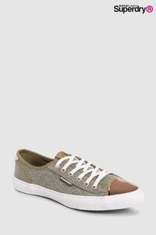 Superdry Khaki Lux Low Pro Sneaker