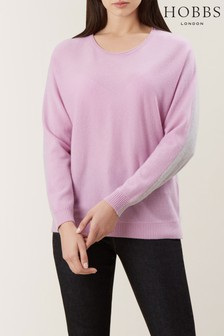 Hobbs Purple Georgia Sweater