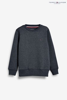 Tommy Hilfiger Blue Basic Sweatshirt