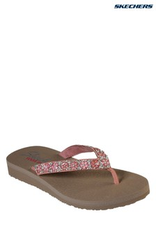 Skechers® Pink Meditation Daisy D'Lite Sandal