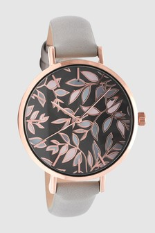 Leaf Dial Watch