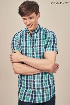 GANT Persain Blue Broadcloth Shirt