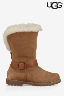 UGG® Kids Nessa Buckle Boots
