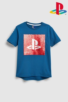 Playstation™ Sequin Change T-Shirt (3-16yrs)