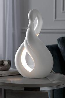 White Swan Table Lamp