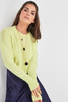 e74710ff2be968 Buy Women's knitwear Knitwear Yellow Yellow Jumpers Jumpers from the ...