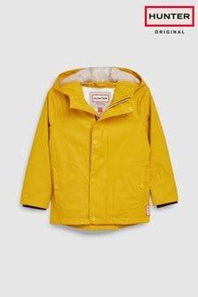 Hunter Kids Yellow Lightweight Rubberised Jacket