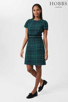 Hobbs Natural Rosa Tweed Dress