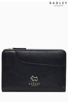 Radley Black Medium Ziptop Purse