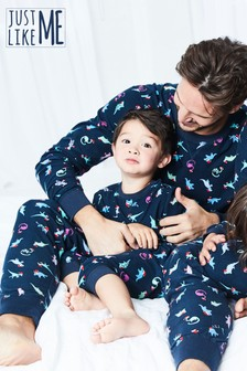 Detské pyžamo s dinosaurami z kolekcie Ladí celá rodina (9 mes. – 16 rok.)