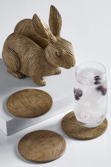 Bunny Coaster Holder