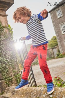 Boden Red Cosy Lined Jogger