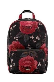 תיק גב עשוי ג'קארד וקטיפה מדגם Rose של Cath Kidston®