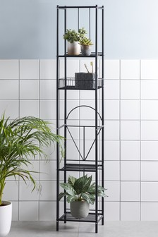 Geometric Tall Shelf Unit