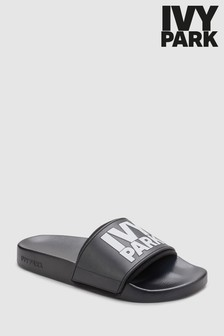 Ivy Park Black Slider