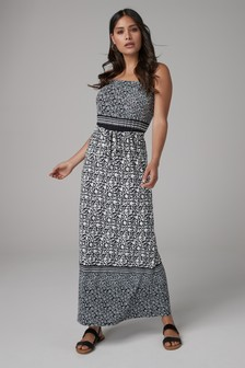 c5687378021 Bandeau Maxi Dress