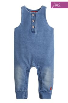Joules Baby Frankie Jersey Denim Dungaree