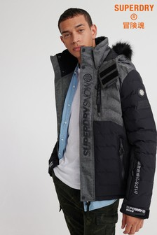 Superdry Ski Black Snow Coat