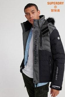 Superdry Ski Black Snow Coat