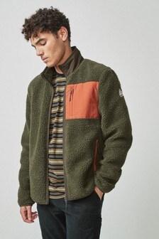 Fleece Zip Through Jacket