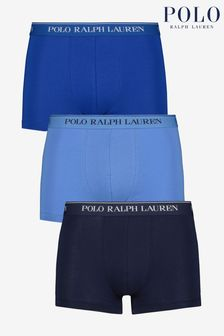 Polo Ralph Lauren Blue/Navy Trunk Three Pack