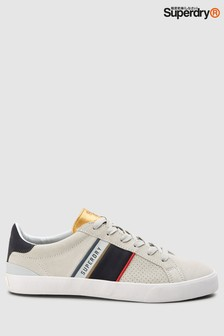Superdry White Vintage Trainer