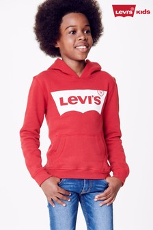 Levi's® Kids Red Batwing Hoody