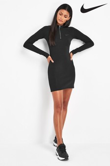 Nike Long Sleeved 1/4 Zip Dress