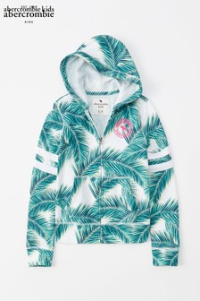 Abercrombie & Fitch Palm Print Hoody