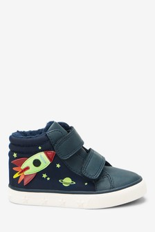 Rocket Double Strap Skate Boots (Younger)