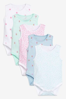 Under The Sea Vests Five Pack (0 חודשים-2 שנים)