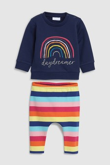 Daydreaming Sweat Top And Legging Set (0mths-2yrs)