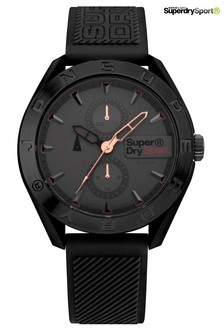 Superdry Grey Silicone Watch