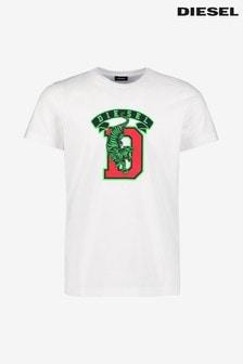 Diesel® Tiger Varsity T-Shirt