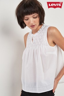 Levi's® White Teagan Top