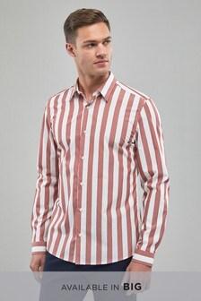 Long Sleeve Bold Stripe Shirt