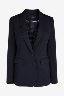 Tailored Longline Suit Jacket