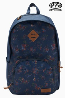 Animal Navy Patterned Discover 23Ltr Backpack