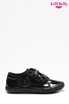 Lelli Kelly Black Lily School Pumps